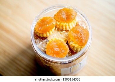 Chinese New Year Snack and Goodies - The Pineapple tart is the most popular Chinese New Year snacks. These traditional tarts are identifiable by the signature flower shape.