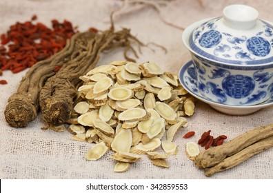 Chinese Medicine??  Nourishing herbs   Radix Codonopsis