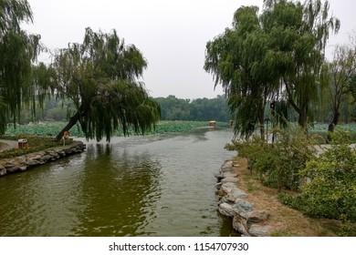 Chinese old summer palace: Yuanmingyuan