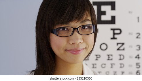 Chinese optometrist