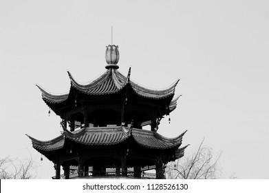 Chinese pavilion detail (Kunming, Yunnan, China)