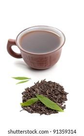 Chinese pu-erh tea.