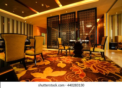 Chinese Restaurant interior, part of a hotel
