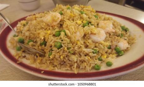 Chinese riz in restaurant of New York