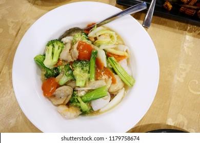 Chinese Sah Hor Fun Rice Flat Noodles