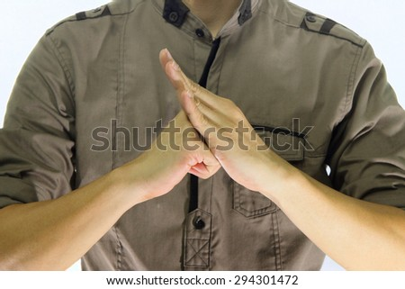 Chinese salute greetings sing chinese martial stock photo edit now chinese salute greetings sing a chinese martial arts greeting features m4hsunfo