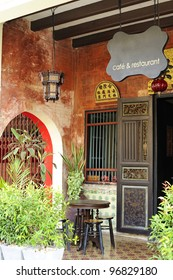 Chinese - Sino - Portuguese - Old Town in Phuket - cafe and restaurant