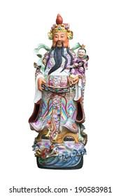 Chinese statue HOK LOK SIEW