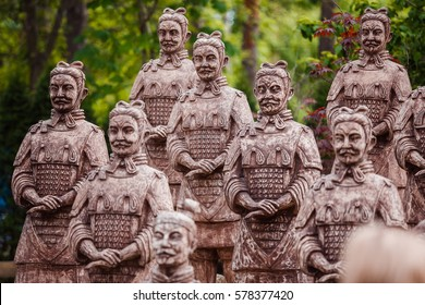Chinese statues