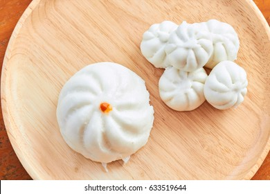Chinese streamed bun or Siopao