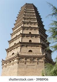 chinese stupa