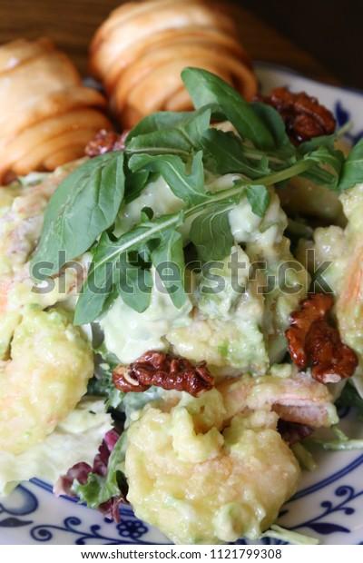 chinese style cream shrimp