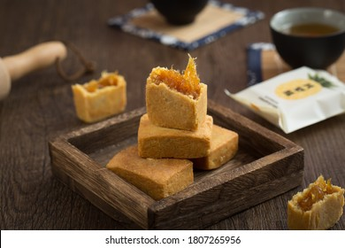 Chinese style private pineapple cake