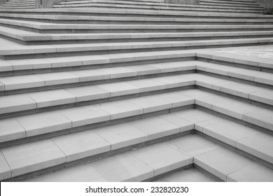 Chinese style stone staircase
