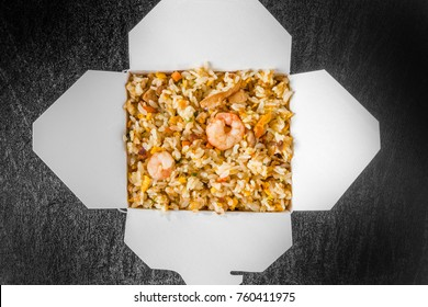Chinese take out(fried rice)