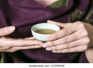 Chinese the tea ceremony