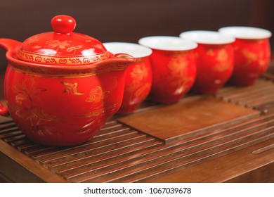 Chinese tea ceremony, Puer tea in assortment