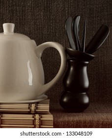Chinese tea and objects,