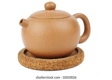 chinese teapot of loam