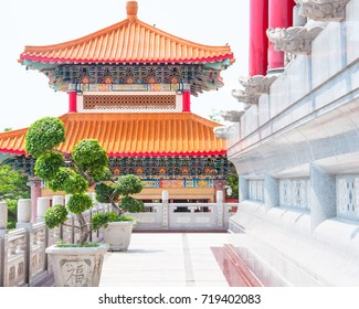 Chinese temple entrance.