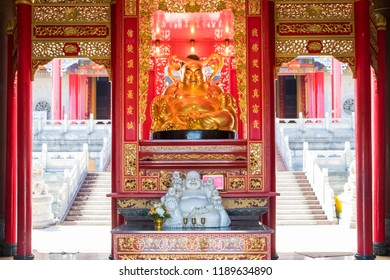 Chinese temple gate in Thailand