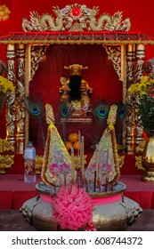 Chinese  temple  in Udon-Thani , Thailand