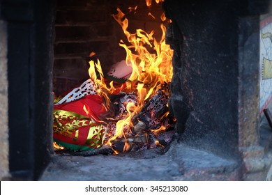 Chinese traditional burning joss paper