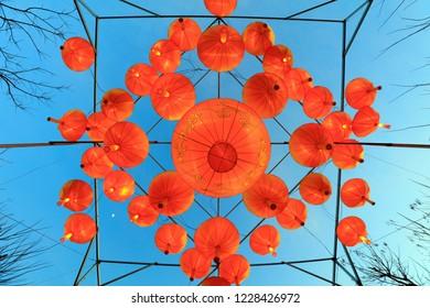 Chinese traditional festive lantern