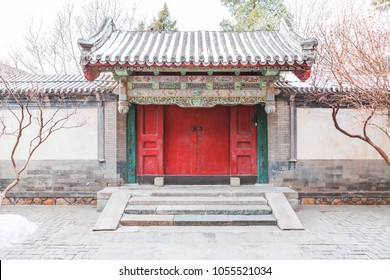 Chinese traditional house gate door