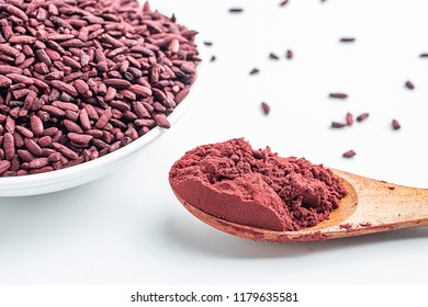Chinese traditional natural pigment food red yeast rice
