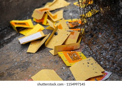Chinese traditional religious practices, Zhongyuan Purdue, Chinese Ghost Festival, burning paper money