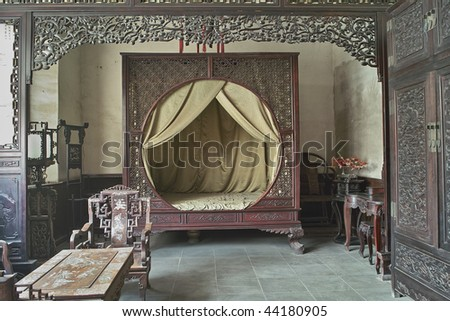 Chinese Traditional Style Bedroom Stock Photo Edit Now 44180905