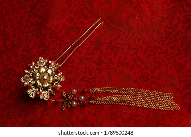 Chinese traditional wedding women's jewelry hairpins