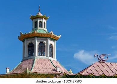 Chinese village in Pushkin (Tsarskoe Selo), Russia
