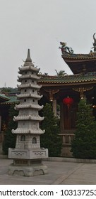 """Chinese word say """"Nanputuo temple"""" it's a name of the temple in Xiamen"""