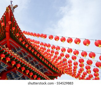 Chinese year of the rooster. Rooster year. Chinese new year decorations. Image contain certain grain or noise and soft focus.