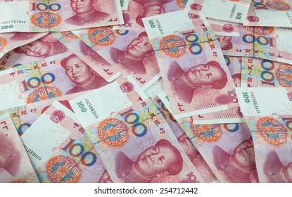 Chinese yuan renminbi banknotes