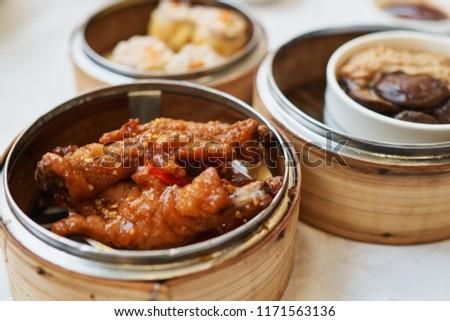 Chinese Yumcha Food Chicken Feet Stock Photo Edit Now 1171563136
