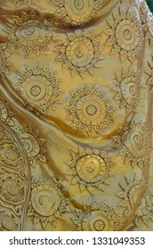 chiness gold texture background