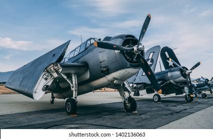 Chino, CA USA - May 6th, 2018: Planes of Fame Airshow