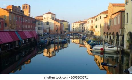 Chioggia, Italy - Calm Evening, November sun