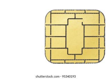 Chip card.