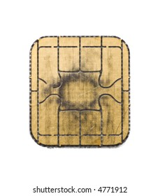chip from a credit card
