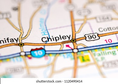 Chipley Florida Map.Chipley Florida Usa On Map Stock Photo Edit Now 1120490414