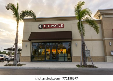 Chipotle Mexican Grill on December 9, 2017 in Orlando, Florida, USA