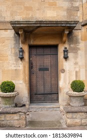 Chipping Campden, Cotswolds / UK - October 2016: Buildings in the village of Chipping Campden in the Cotswolds, UK