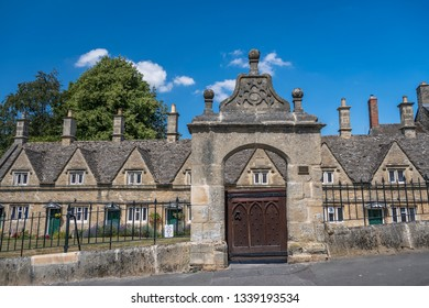 Chipping Norton Cotswolds Almshouses Entrance Gate