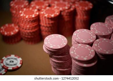 Chips for casino gambling