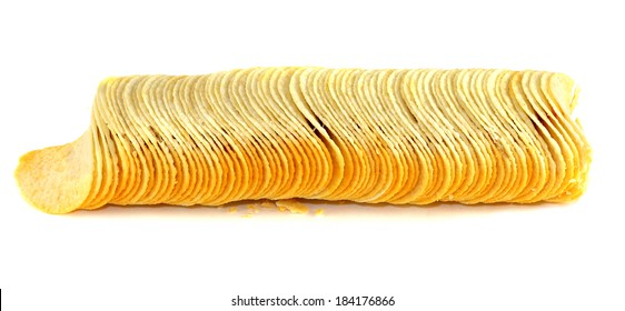 Chips are a column on a white background