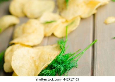 chips with dill